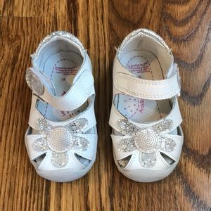 pediped Daisy Grip 'n Go Infant/Toddler Sandals